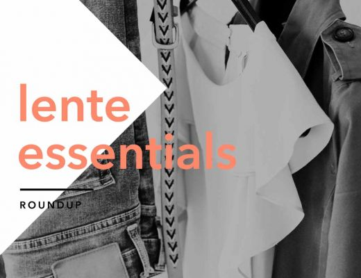 Lente essentials garderobe