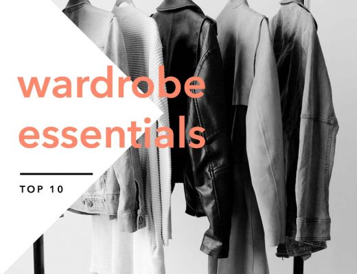 Top 10 Wardrobe Essentials basics